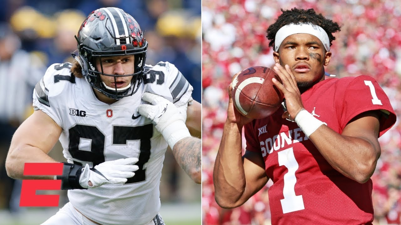 Todd McShay's 2019 NFL draft projections: Kyler Murray, Nick Bosa, Dwayne Haskins and more