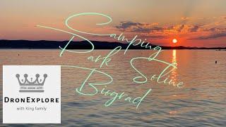 Camping Park Soline Biograd (Croatia) fimi x8 se 4k drone footage #028