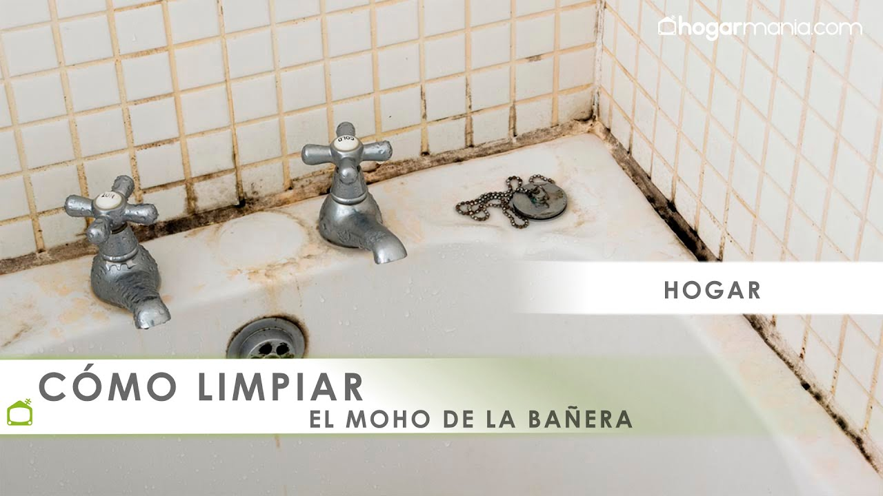Misión Impecable Limpiar Moho De La Bañera Youtube