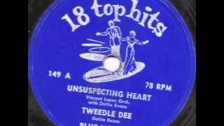 Tweedlee Dee (1955) - Dottie Evans