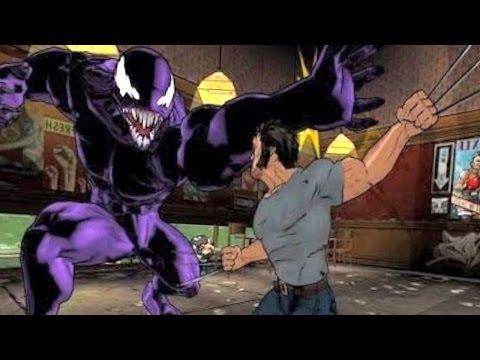 Ultimate Spider-Man - VENOM ENCONTRA WOLVERINE (LOGAN) #2 Gameplay em Português