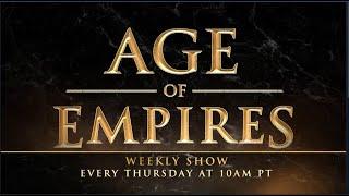Age of Empires Weekly Stream | AoE II: DE | Winter Celebration!