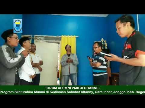 Silaturahim Forum Alumni PMII UI di Rumah Sahabat Alfanny, Ketua Ansor Jakarta Barat