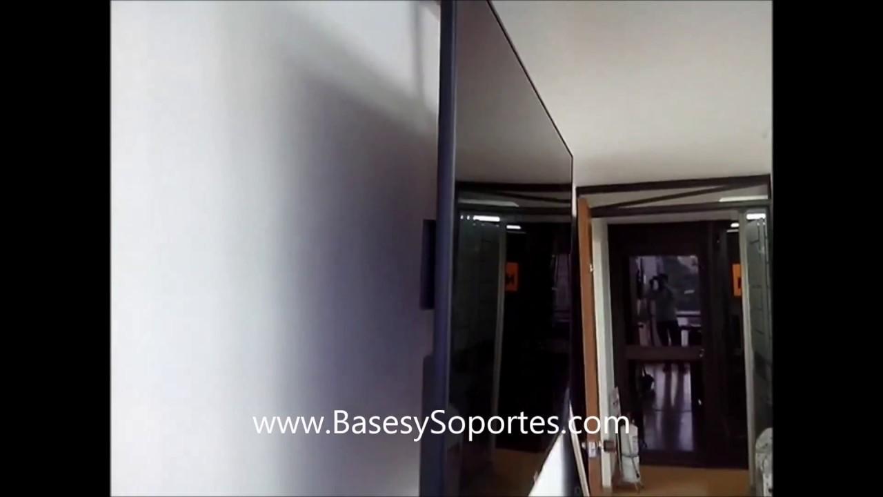 Soporte televisor de techo acero inoxidable 304 base - Soportes de tv para techo ...