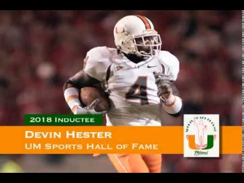 Devin Hester - University of Miami Sports Hall of Fame