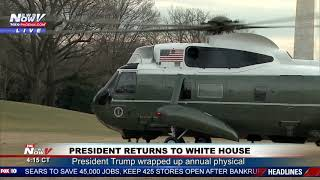 MARINE ONE Landing At The White House - RARE FOOTAGE