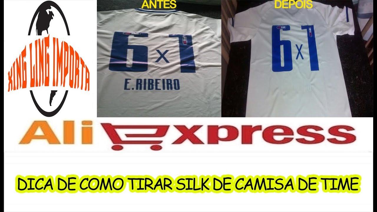 4ebc63d28b00fd DICA DE COMO REMOVER ESTAMPA OU TRANSFER DE CAMISAS - ! COM ACETONA ...