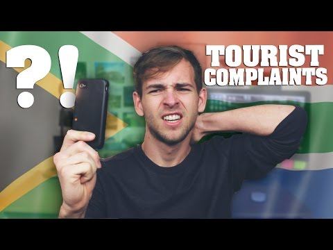 Funny Complaints about South Africa