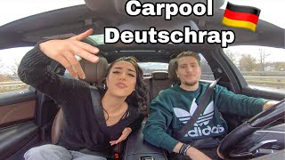 CARPOOL DEUTSCHRAP 🇩🇪🚗 / Mero - Eno - Capital Bra | Ebru & Tuncay