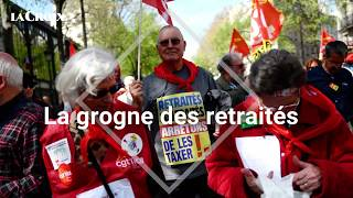 Contre la hausse de la CSG, la grogne des retraités