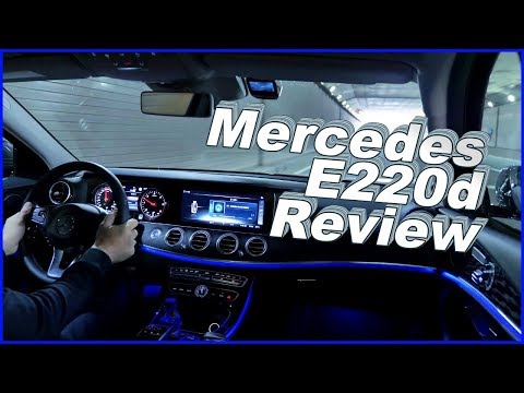벤츠 e220d 아방가르드 시승기 ♥ 2018 벤츠E클래스  Mercedes-Benz E class E220d Review 소닉 리뷰 #41 ♥