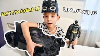 Ridaz Batmobile Pull Along Travel Case. Дитячий валізу. Розпакування. Kids suitcase unboxing