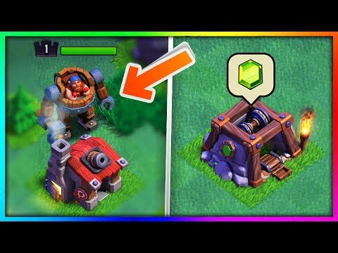 "Thumbnail: GEMMING The ENTIRE ""BUILDERS VILLAGE"" UPDATE in Clash of Clans!"