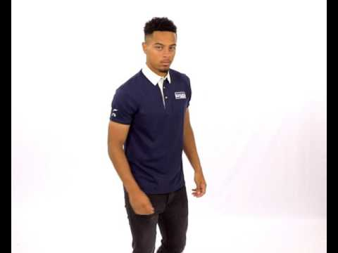 NASH-D555 Short Sleeve Rugby Shirt With Twill Collar
