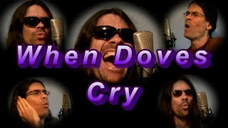 When Doves Cry (with lyrics CC) -- PRINCE (Tribute Cover)