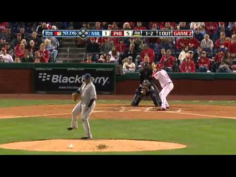 Brett Myers Awesome AB's vs Brewers 2008 NLDS