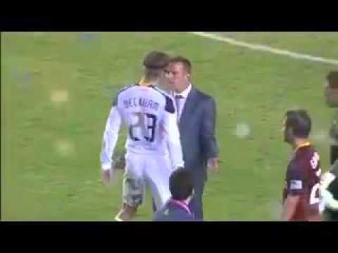 David Beckham Very Agressive USA Soccer