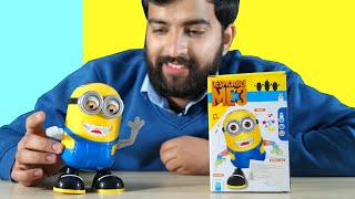 Dancing Minion Robot Toy Light and Musical Toys for Kids Unboxing amp Review