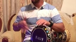 اغنية وانا قاعد سهران مع طبلة علي ابوزياد