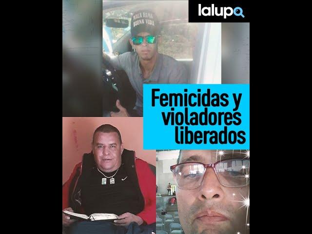 Femicidad y violadores liberados...