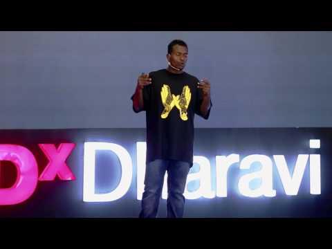 Channelising Dharavi's Young Energy | Aakash Dhangar (SlumGods) | TEDxDharavi
