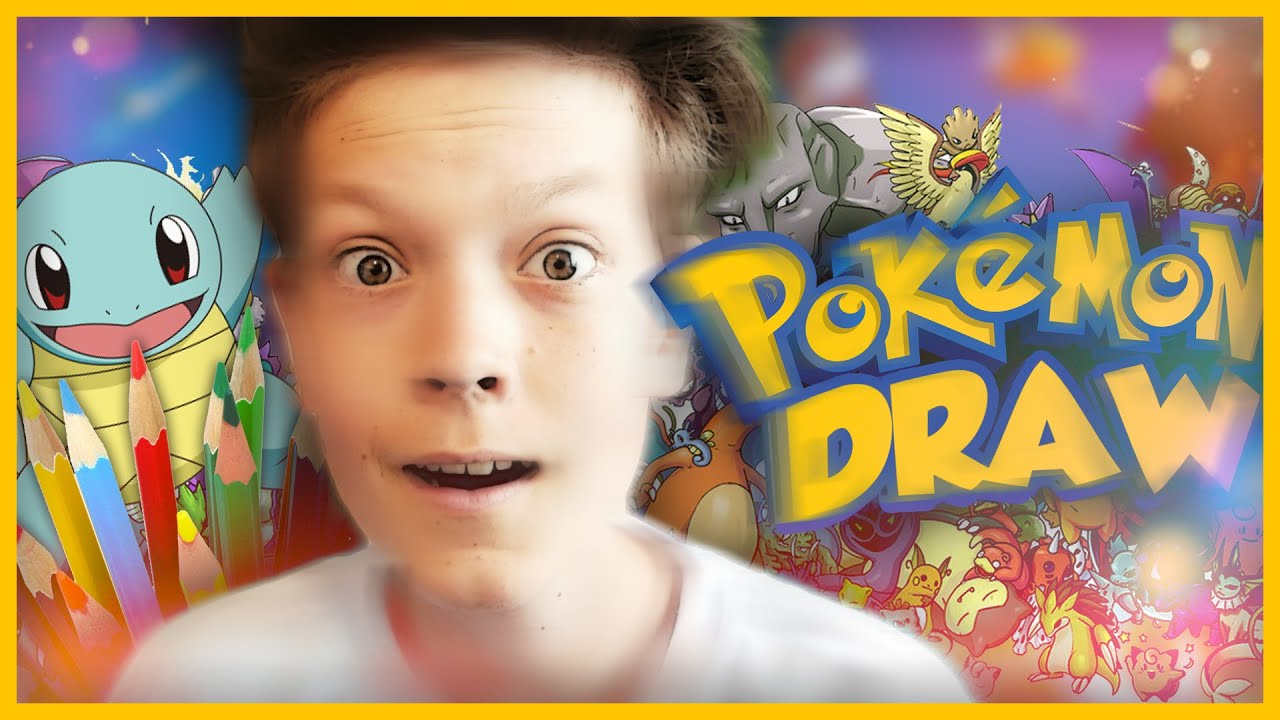 Kresleni Pokemonu Youtube