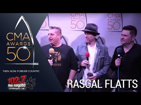CMA Awards 50: Rascal Flatts talks best CMA Awards moments and their new Christmas Album