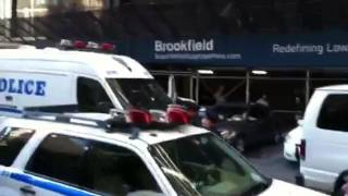 NYPD acts afool at OWS 3rd birthday