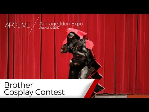 Armageddon Expo 2017: Auckland - Brother Cosplay Contest [#APGLive]