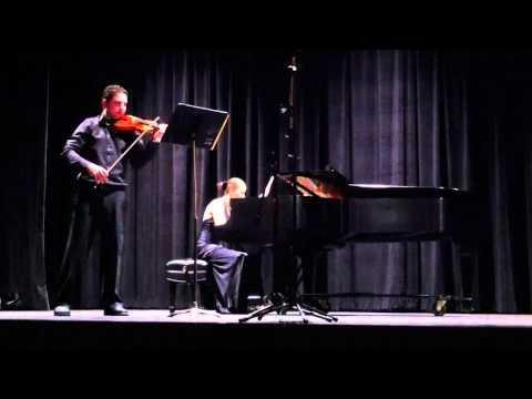 Radu Pieptea, violin and Natasha Marin, piano. Beethoven Sonata op.24