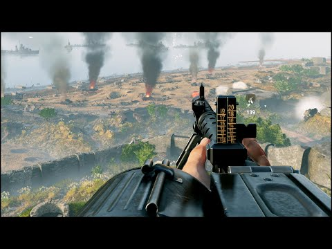 DEFENDING OMAHA BEACH - EPIC DDAY - NEW SHOOTER GAME