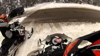 Houghton Lake, Mi - Snowmobile Trail Riding