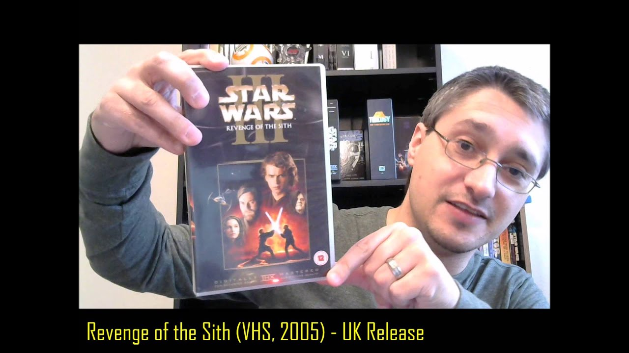 From The Star Wars Home Video Library 18 1 Revenge Of The Sith Uk Vhs 2005 Youtube