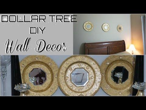 DOLLAR TREE DIY  MIRROR WALL DECOR  DIY INEXPENSIVE HOME DECOR IDEAS  PETALISBLESS