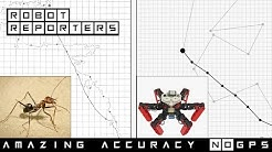Antbot: precise navigation without GPS, like a desert ant