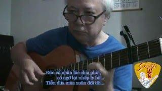 Guitar solo - BUỒN GA NHỎ (Nguyễn Hiền & Minh Kỳ) - Lê Vinh Quang
