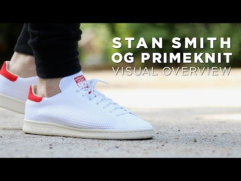 Stan Smith OG Primeknit 'Red' - Visual Overview