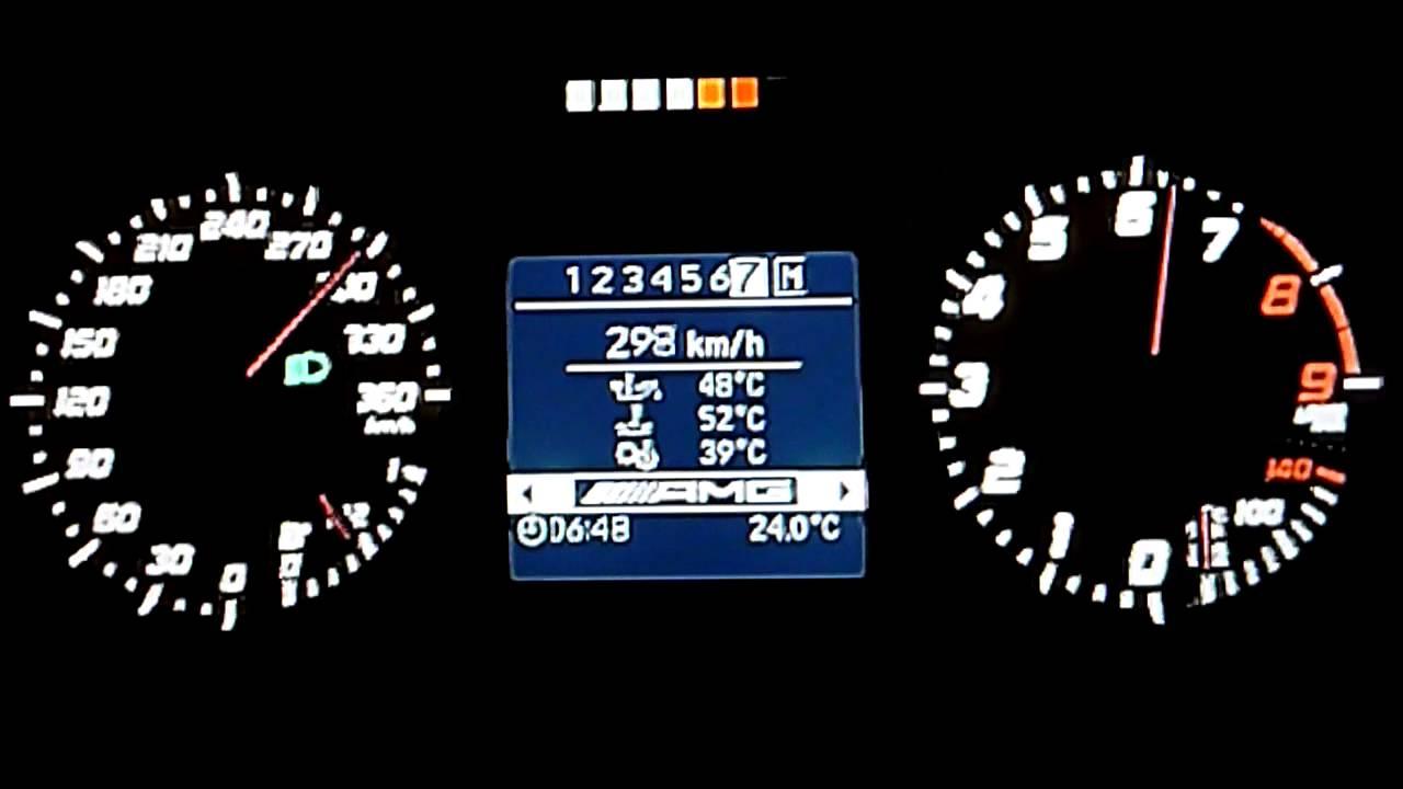 Mercedes-Benz SLS AMG Top Speed Run -GT6- - YouTube