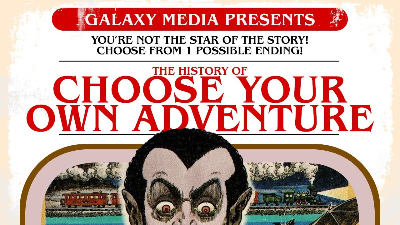 The Rise & Fall & Rise of Choose Your Own Adventure Books