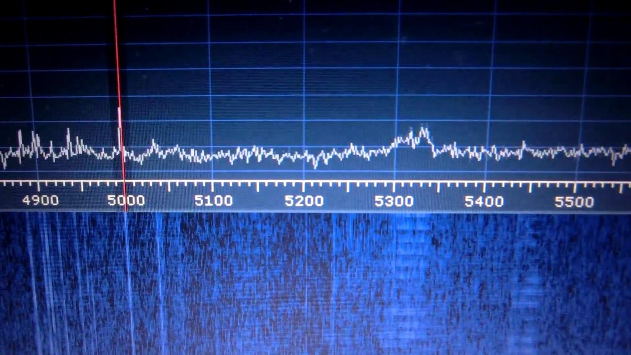 Receiving BPM & CODAR (SDRplay RSP2 with Indoor Loop antenna)