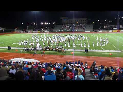 Buckhorn Band at the Peach State Competition 10-28-2017