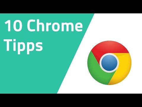 10 Google Chrome Tipps und Tricks