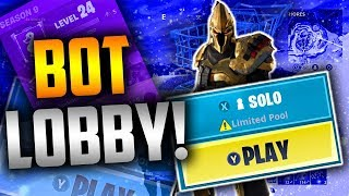 INSANE 'BOT LOBBY' GLITCH À Fortnite! 'SEASON 10' - Fortnite
