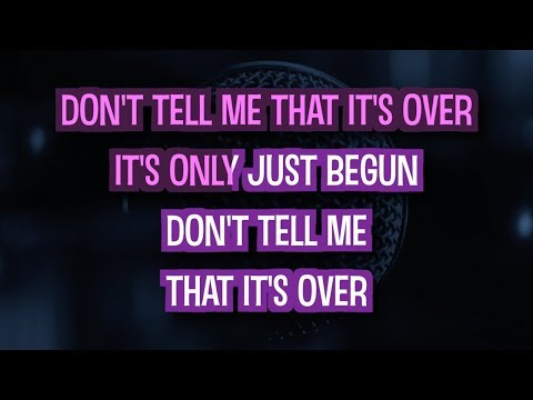 Don't Tell Me That It's Over - Amy MacDonald | Karaoke Version