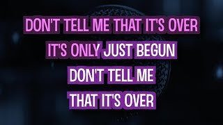 Don't Tell Me That It's Over (Karaoke Version) - Amy MacDonald | TracksPlanet