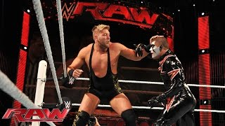 Jack Swagger vs. Stardust: Raw, February 23, 2015