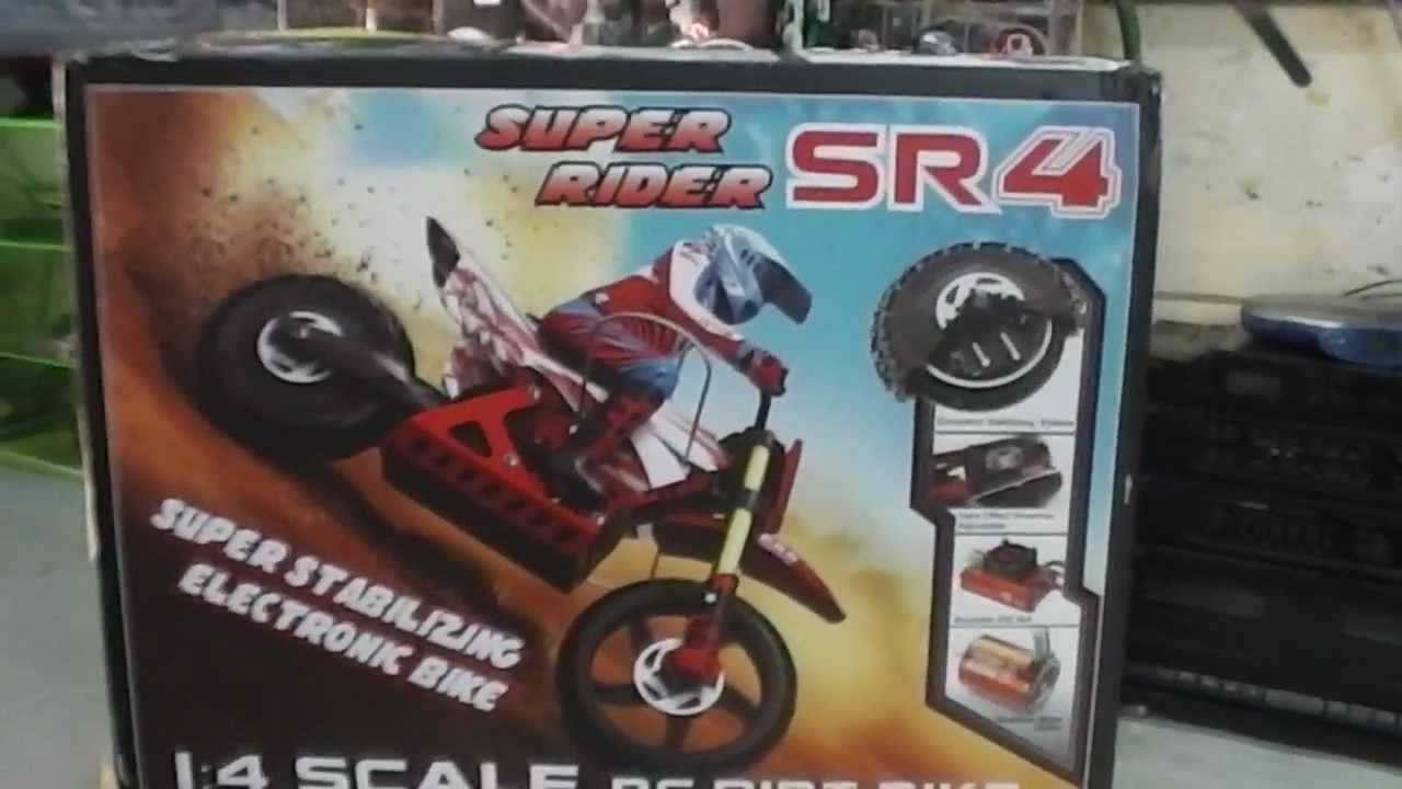 Unboxing Super Rider Sr4 Super Stabilizing Electronic Bike 1 4