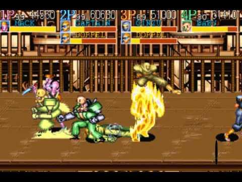 Captain Commando (Arcade) Ktroopas + Saludos :) 4 Players :D