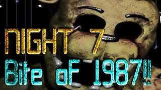 Escape to Freddy s Night 7 1 9 8 7 Bite of 1987