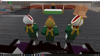 Roblox Mass at St. Pius X Hosted By Pope Pius X